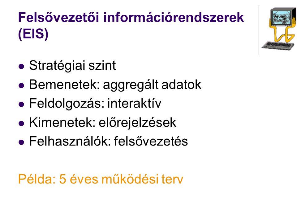 Felsővezetői információrendszerek (EIS)