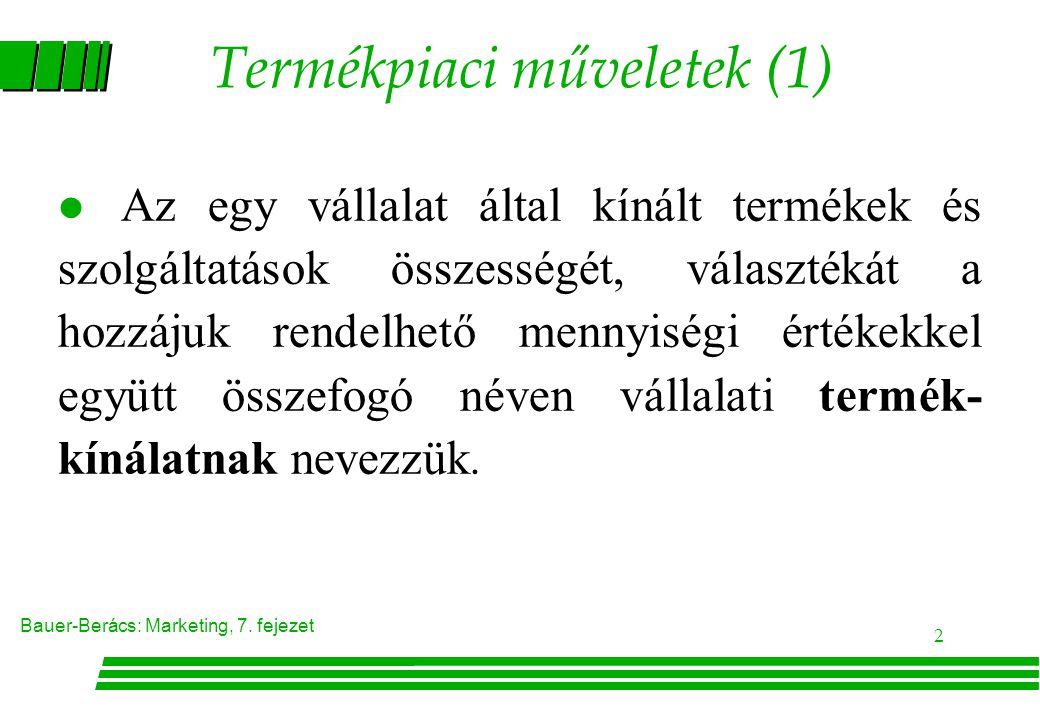 Termékpiaci műveletek (1)