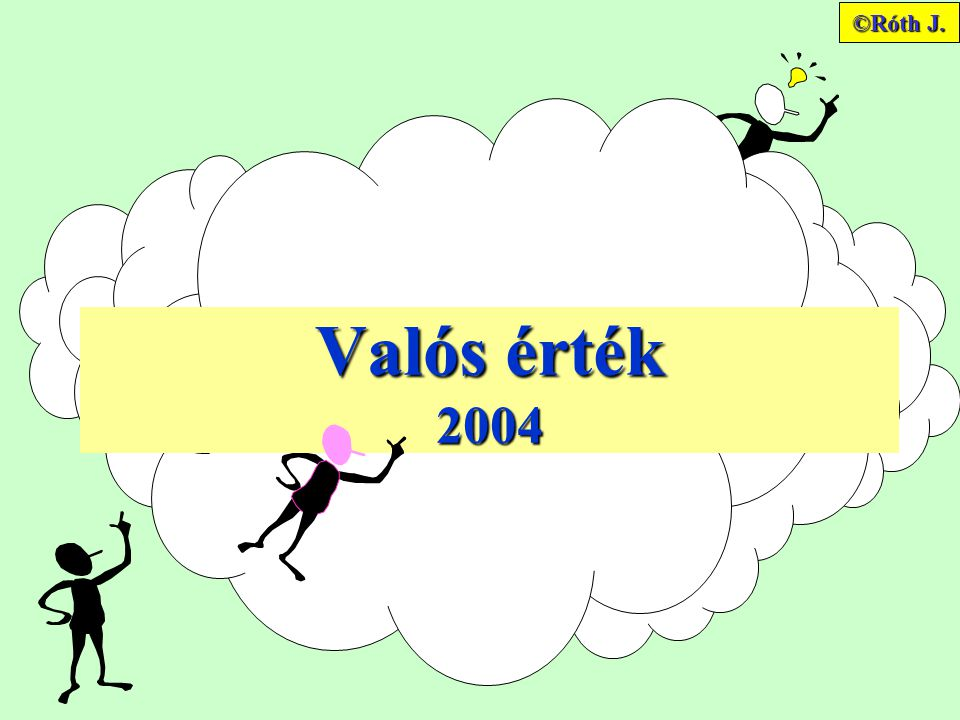 ©Róth J. Valós érték 2004