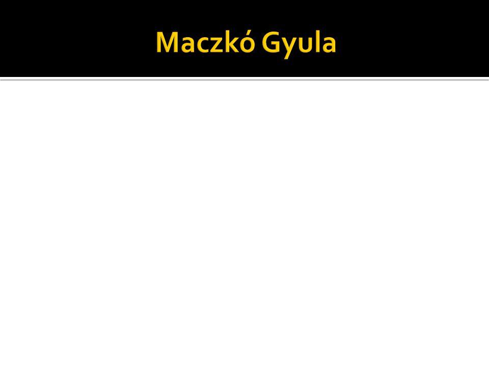Maczkó Gyula