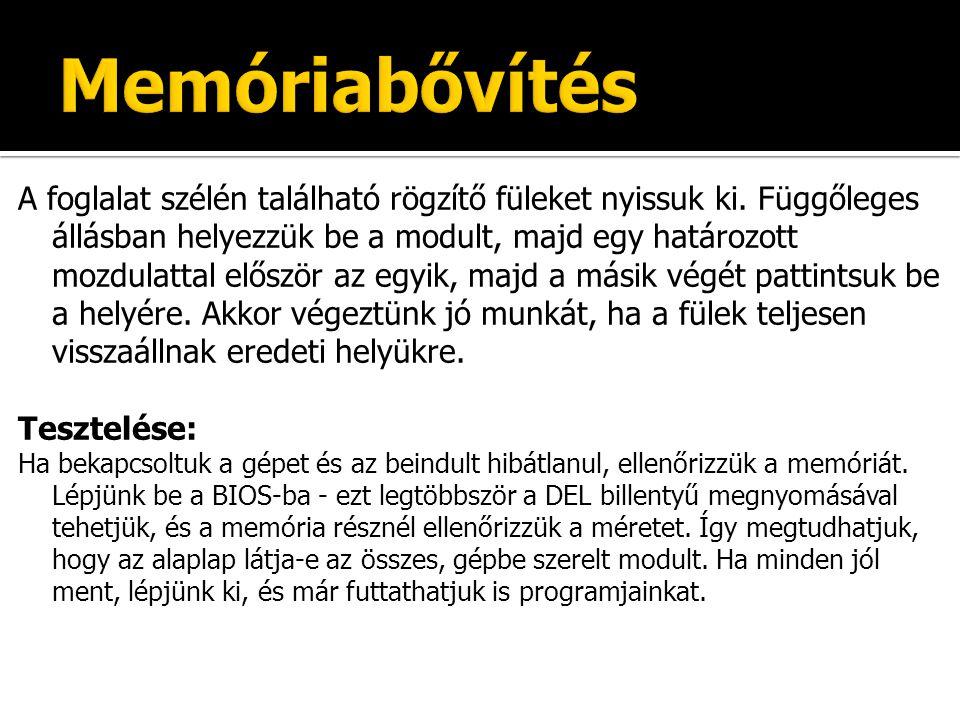Memóriabővítés