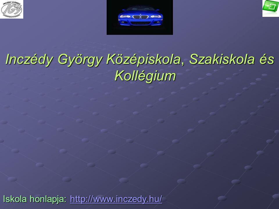 Inczédy György Középiskola, Szakiskola és Kollégium