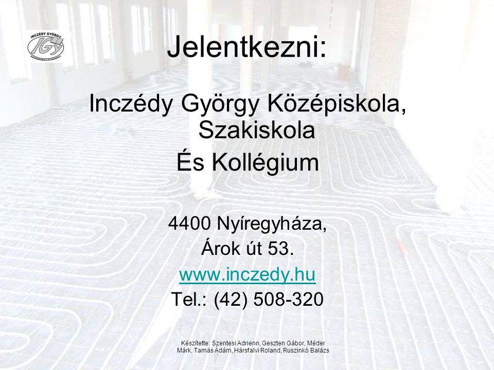 Inczédy György Középiskola, Szakiskola