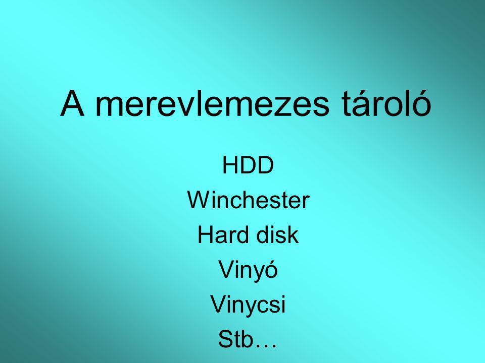 HDD Winchester Hard disk Vinyó Vinycsi Stb…