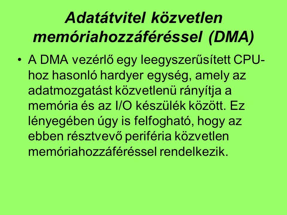 Adatátvitel közvetlen memóriahozzáféréssel (DMA)