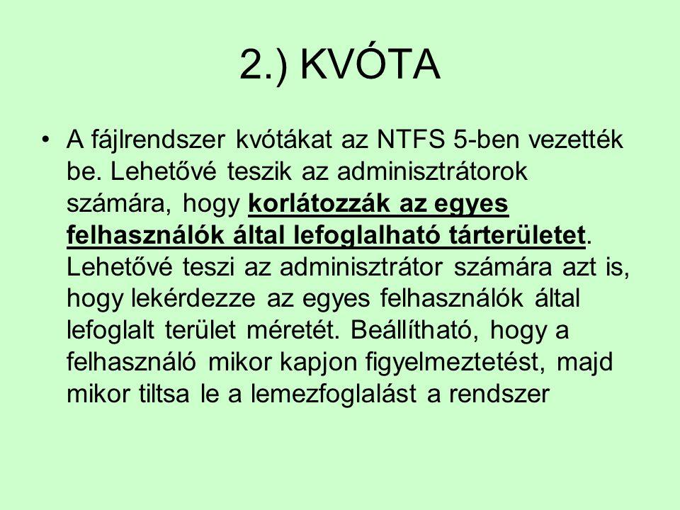 2.) KVÓTA