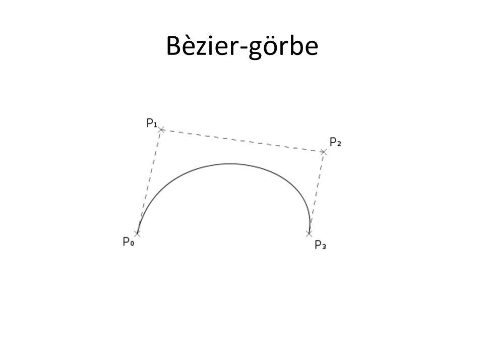 Bèzier-görbe