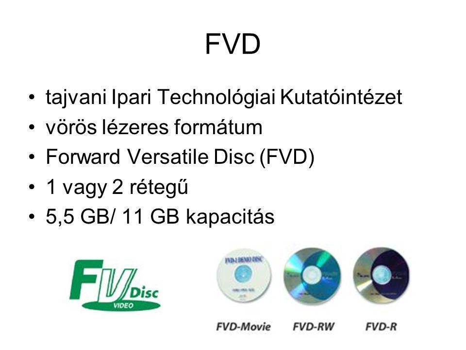 FVD tajvani Ipari Technológiai Kutatóintézet vörös lézeres formátum