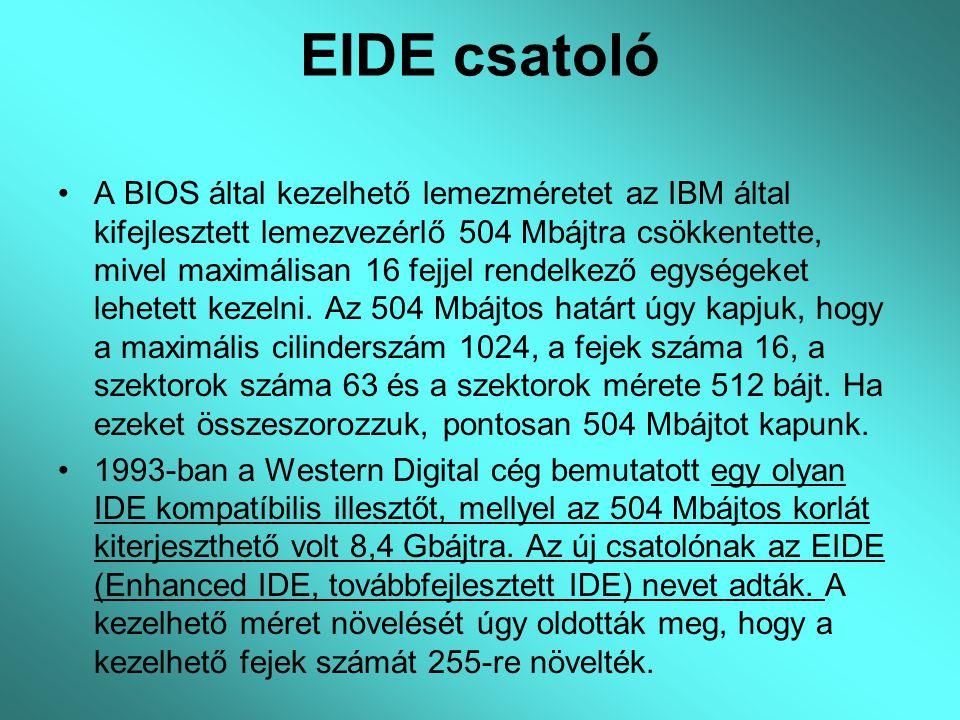 EIDE csatoló