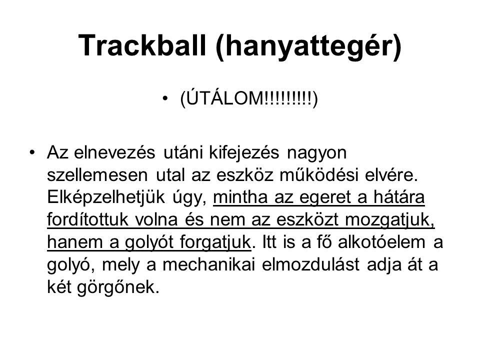 Trackball (hanyattegér)