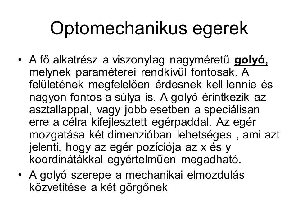 Optomechanikus egerek