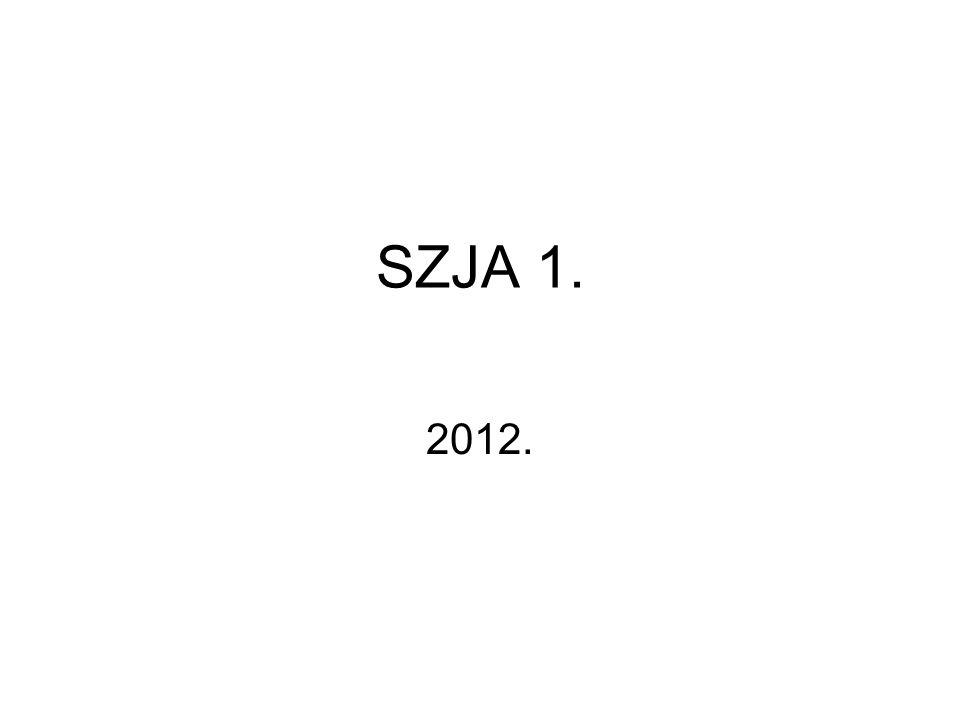SZJA 1. 2012.