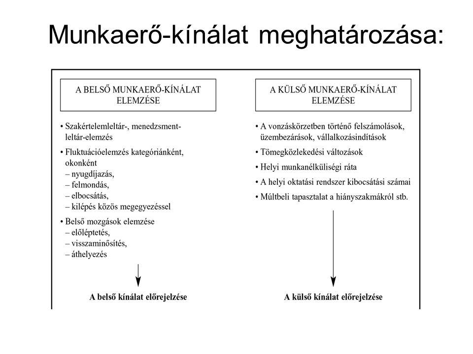 Munkaerő-kínálat meghatározása: