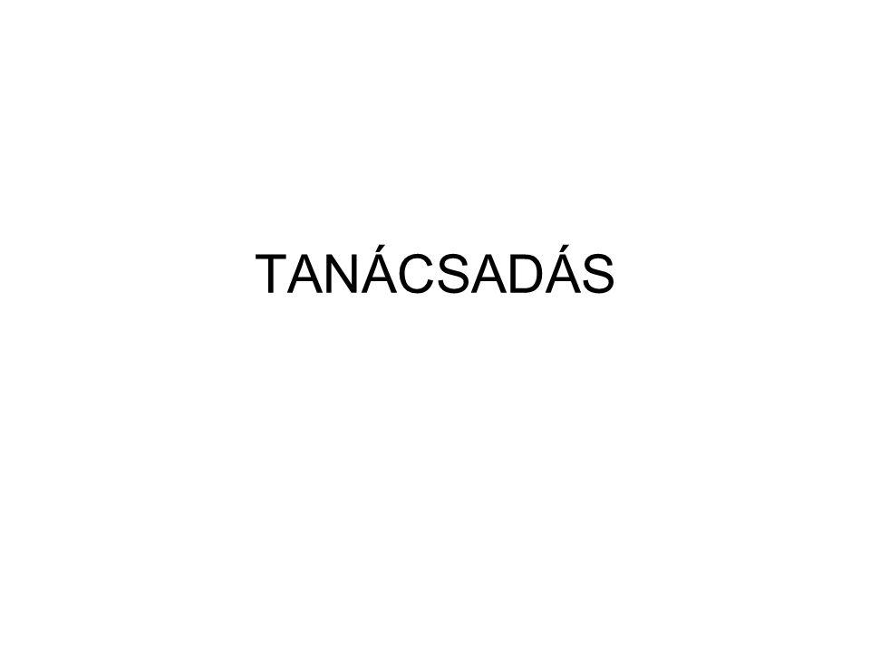 TANÁCSADÁS