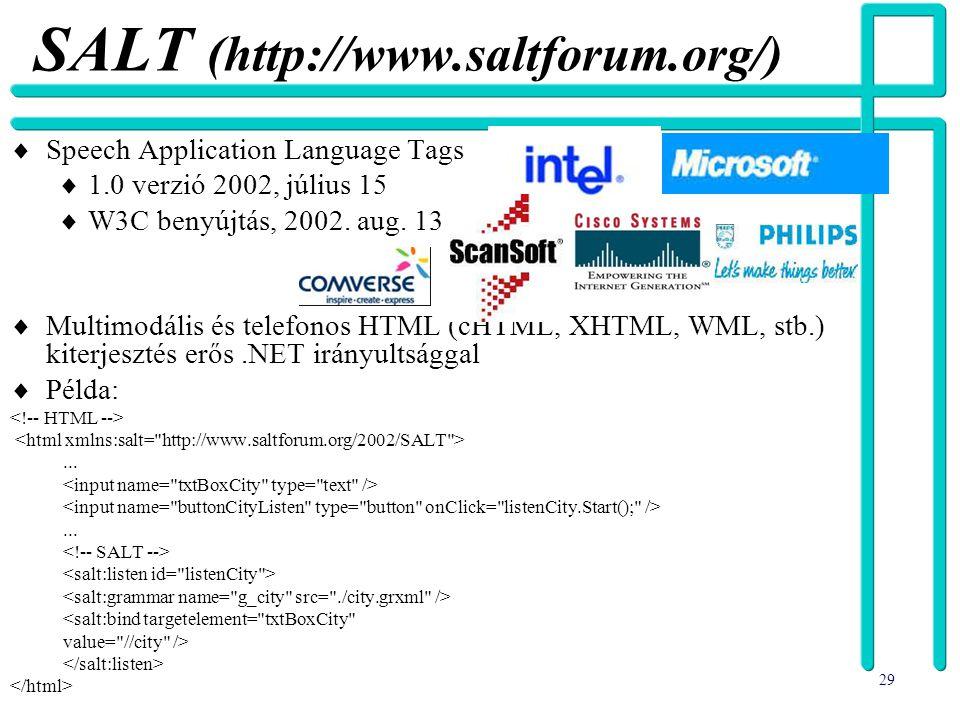 SALT (http://www.saltforum.org/)