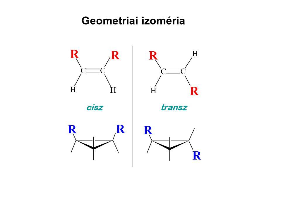 Geometriai izoméria
