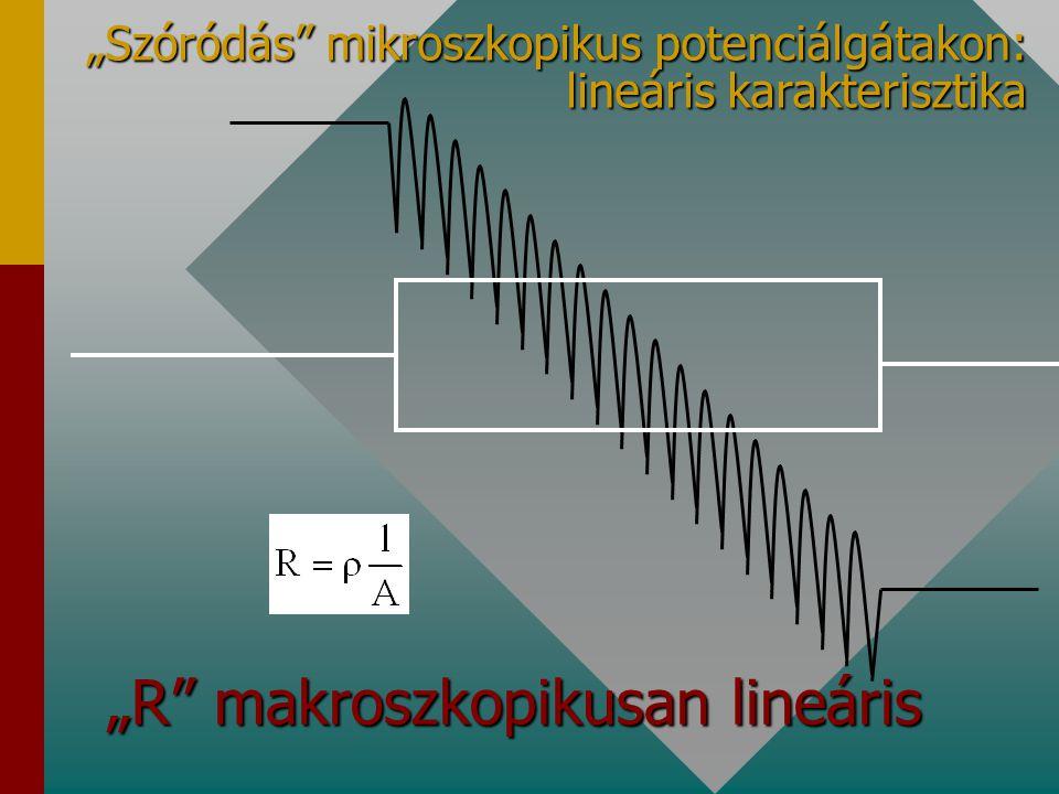 """""""R makroszkopikusan lineáris"""