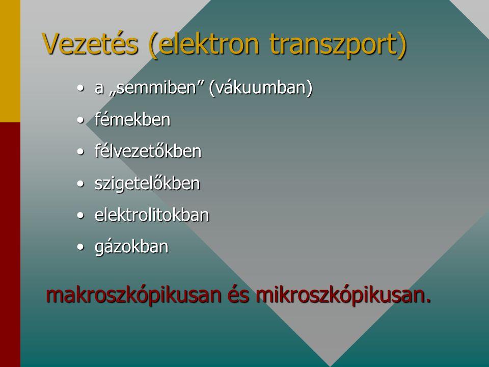 Vezetés (elektron transzport)