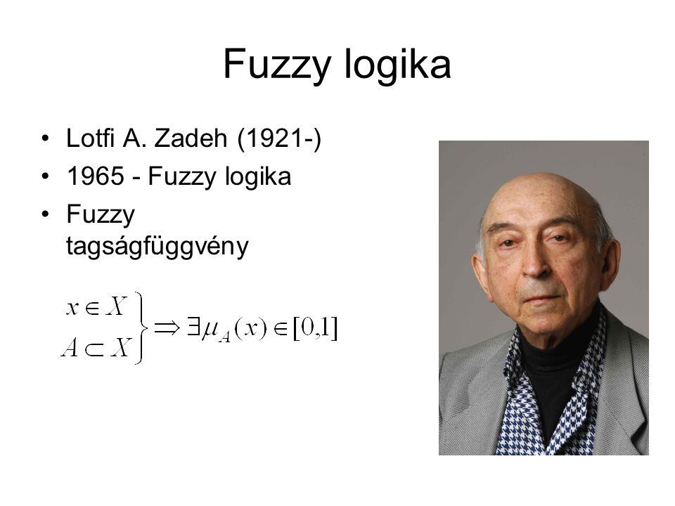 Fuzzy logika Lotfi A. Zadeh (1921-) 1965 - Fuzzy logika