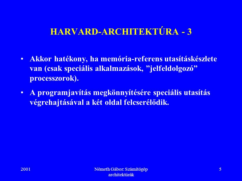 HARVARD-ARCHITEKTÚRA - 3