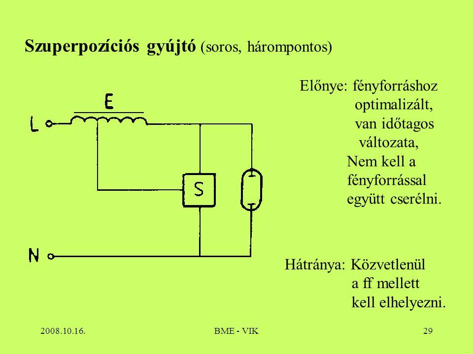 Szuperpozíciós gyújtó (soros, hárompontos)