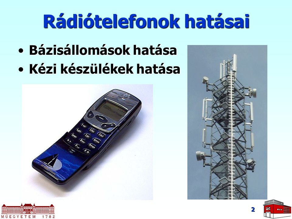 Rádiótelefonok hatásai