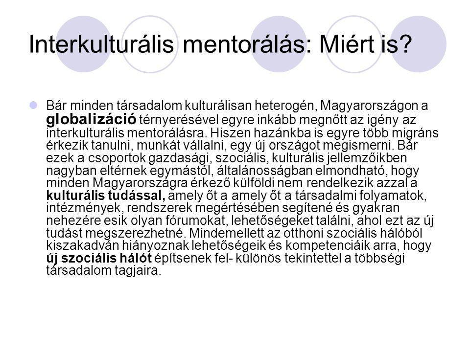 Interkulturális mentorálás: Miért is
