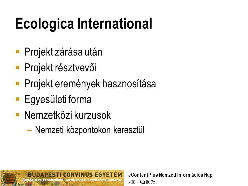 Ecologica International