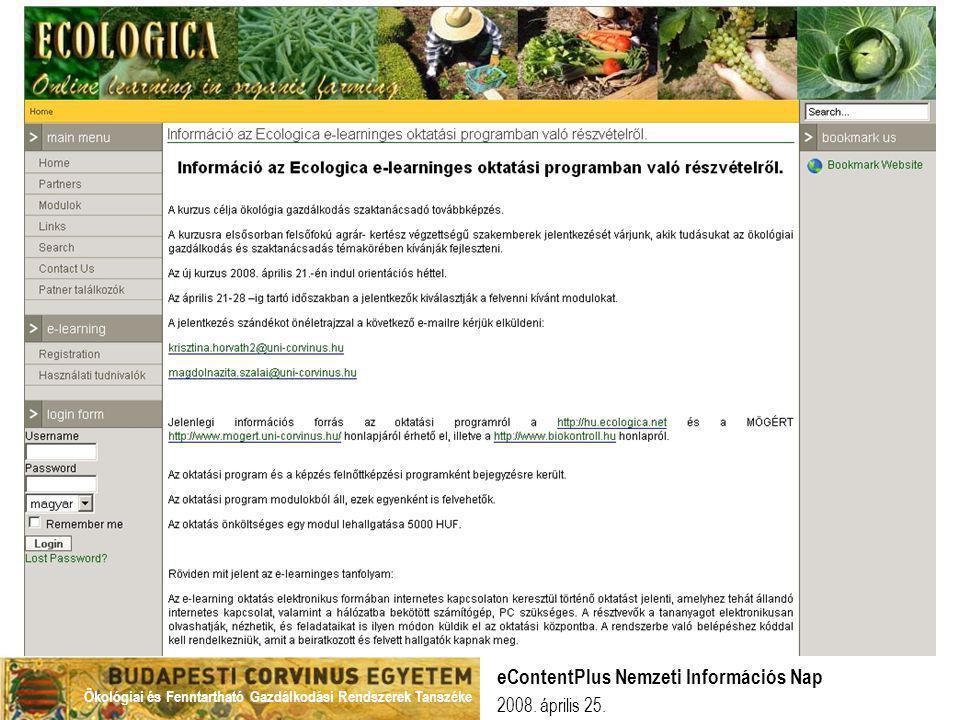 eContentPlus Nemzeti Információs Nap