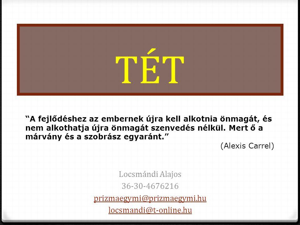 TÉT Locsmándi Alajos 36-30-4676216 prizmaegymi@prizmaegymi.hu