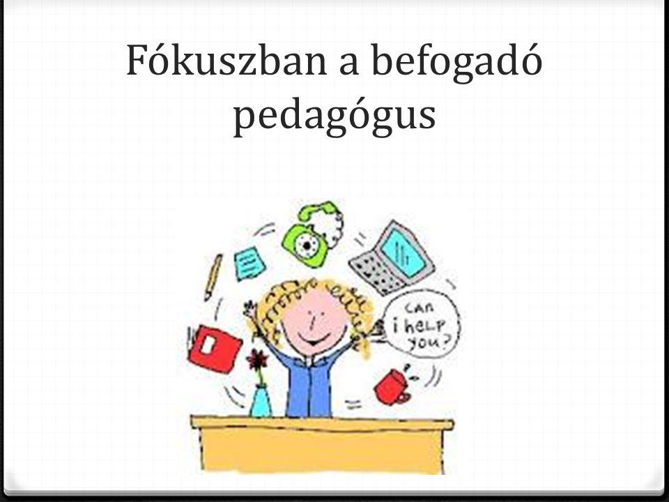 Fókuszban a befogadó pedagógus