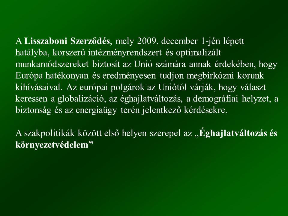 A Lisszaboni Szerződés, mely 2009