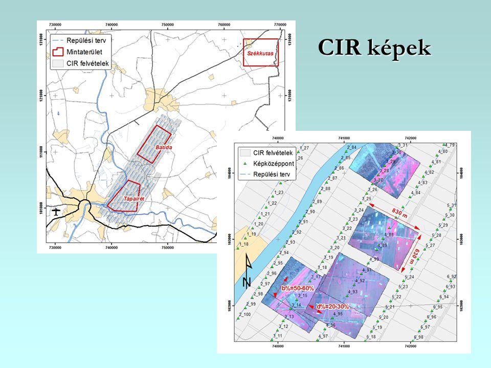 CIR képek
