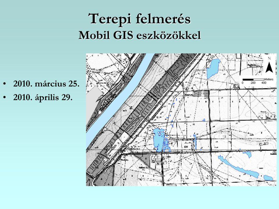 Terepi felmerés Mobil GIS eszközökkel