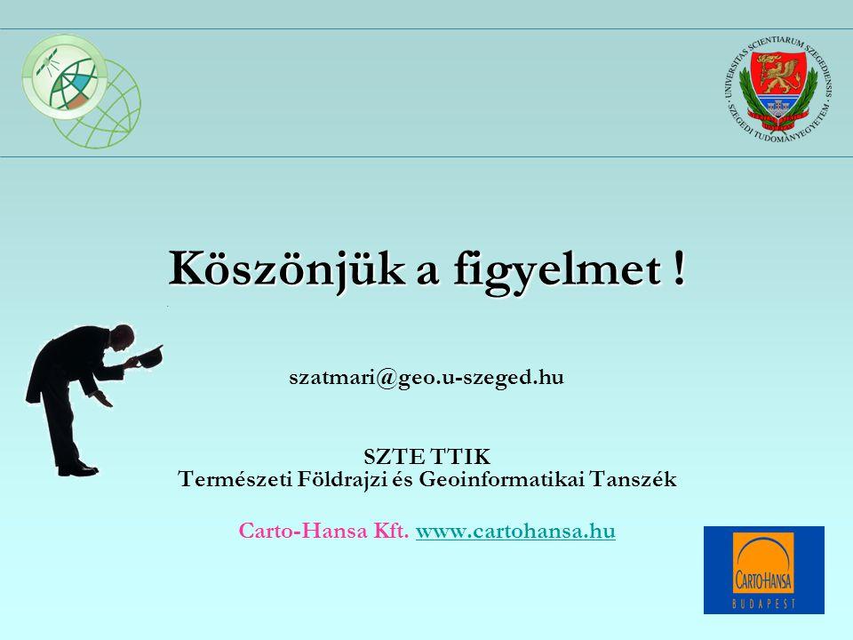 Természeti Földrajzi és Geoinformatikai Tanszék
