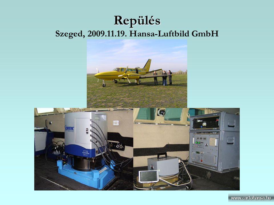 Repülés Szeged, 2009.11.19. Hansa-Luftbild GmbH
