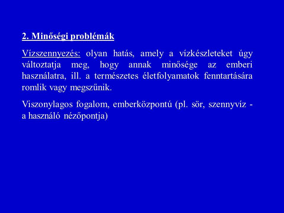 2. Minőségi problémák