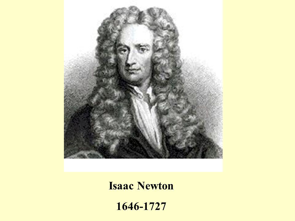 Isaac Newton 1646-1727
