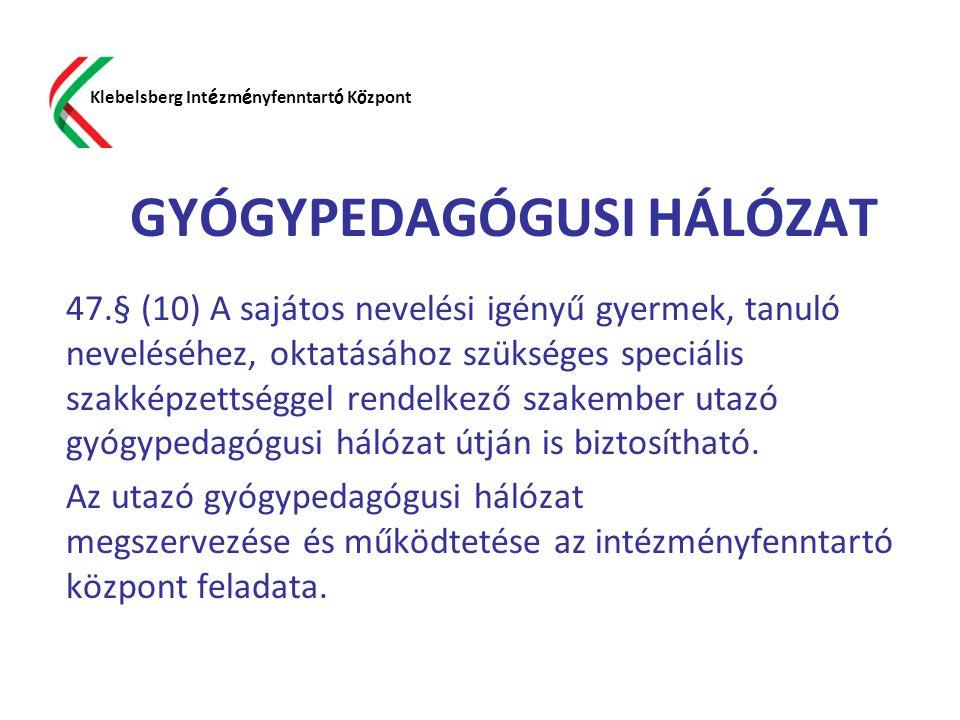 GYÓGYPEDAGÓGUSI HÁLÓZAT
