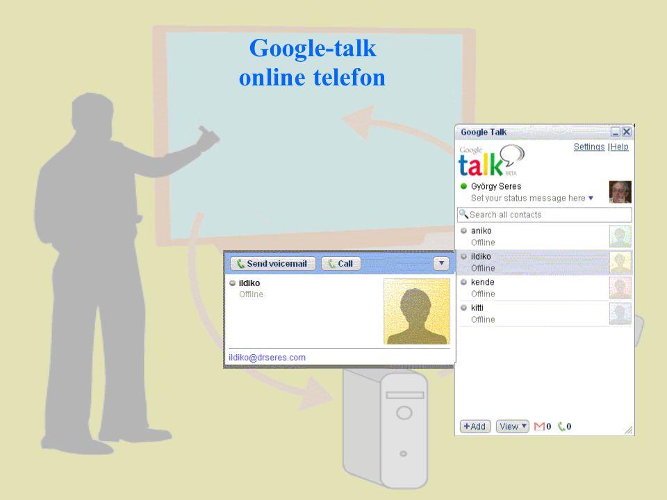 Google-talk online telefon
