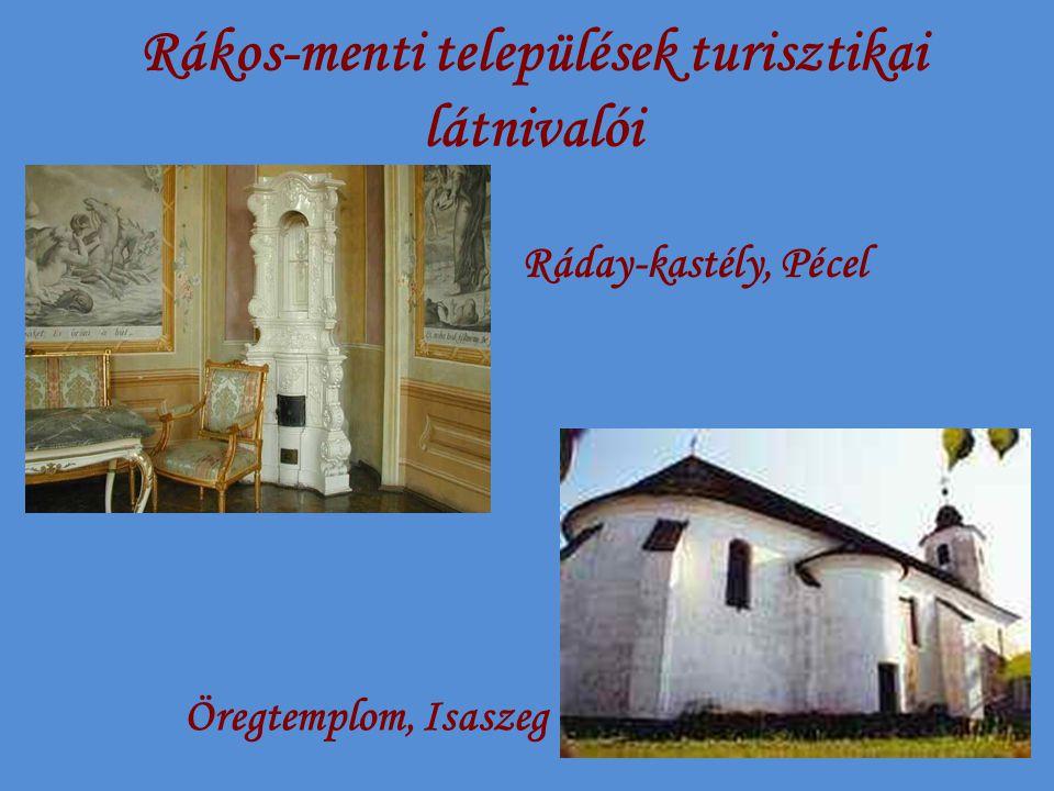 Rákos-menti települések turisztikai látnivalói