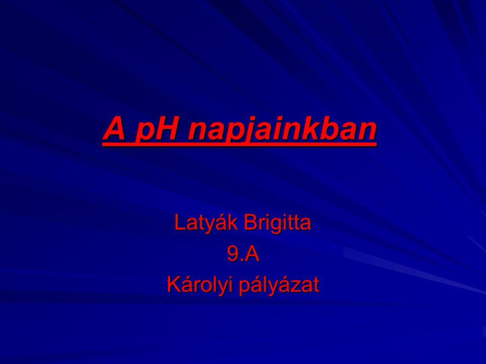 Latyák Brigitta 9.A Károlyi pályázat
