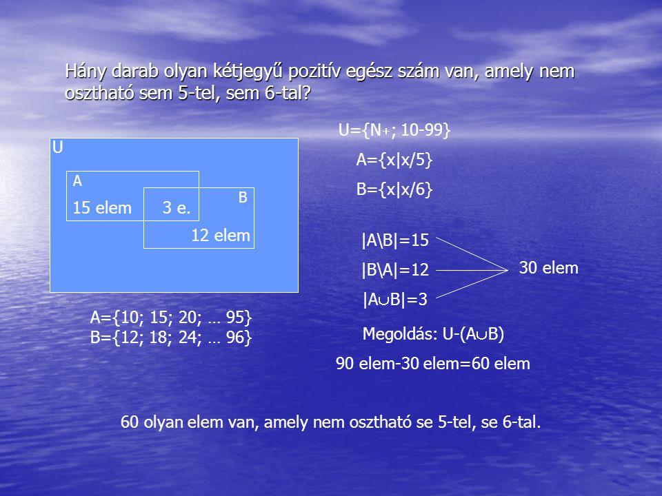 60 olyan elem van, amely nem osztható se 5-tel, se 6-tal.