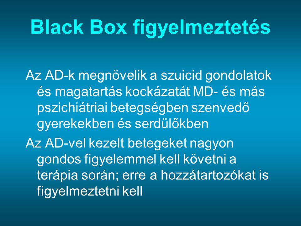 Black Box figyelmeztetés
