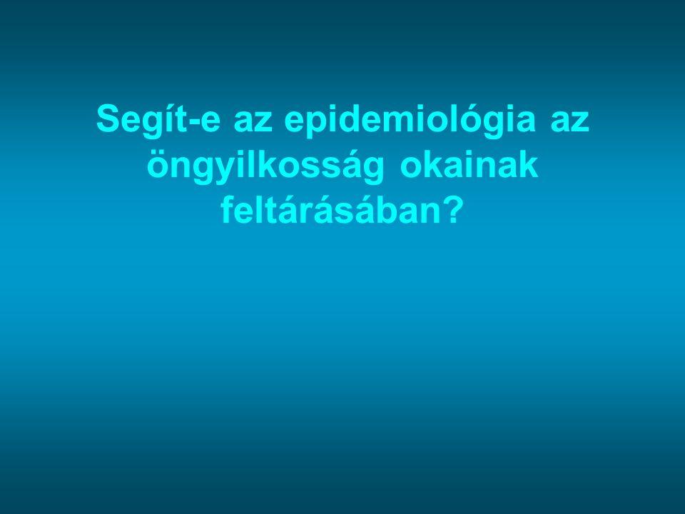 Segít-e az epidemiológia az öngyilkosság okainak feltárásában
