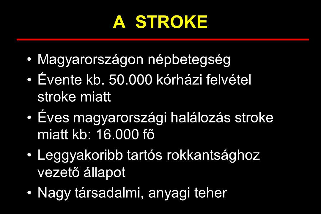 A STROKE Magyarországon népbetegség