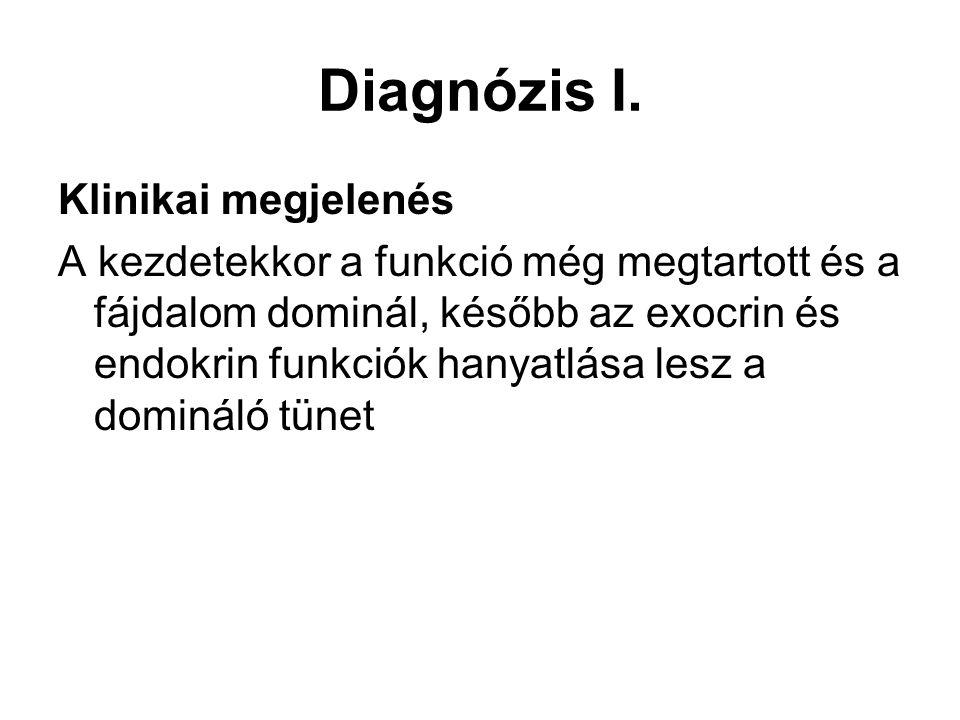 Diagnózis I. Klinikai megjelenés