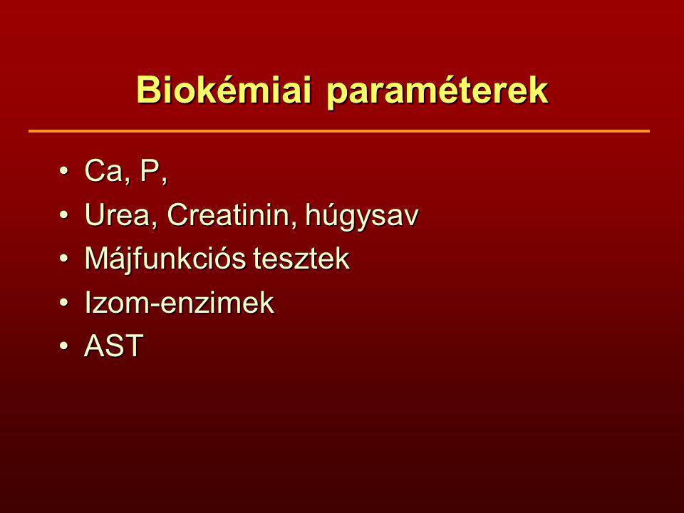 Biokémiai paraméterek