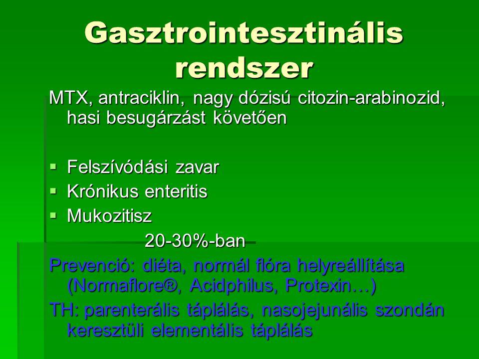 Gasztrointesztinális rendszer