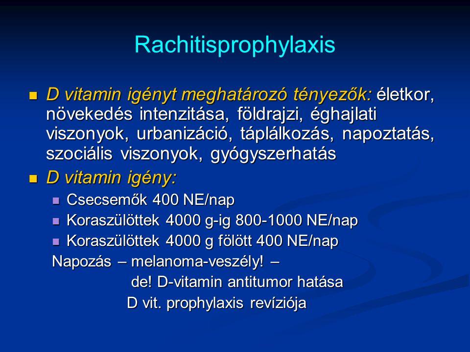 Rachitisprophylaxis